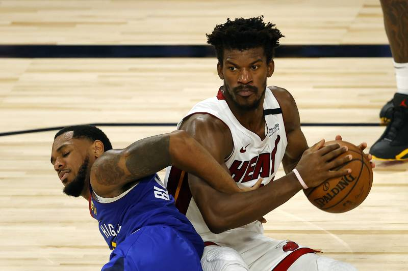 Jimmy Butler Absent From Sunday S Practice Not On Heat S Injury Report 305sports